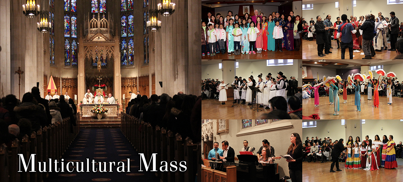Photos: Multicultural Mass