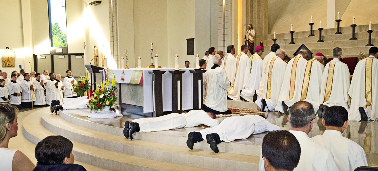 Photos: Ordination to the Transitional Deaconate
