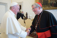 The ACBO with Pope Francis