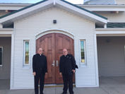 Dedication of Sacred Heart Church in Fort Simpson