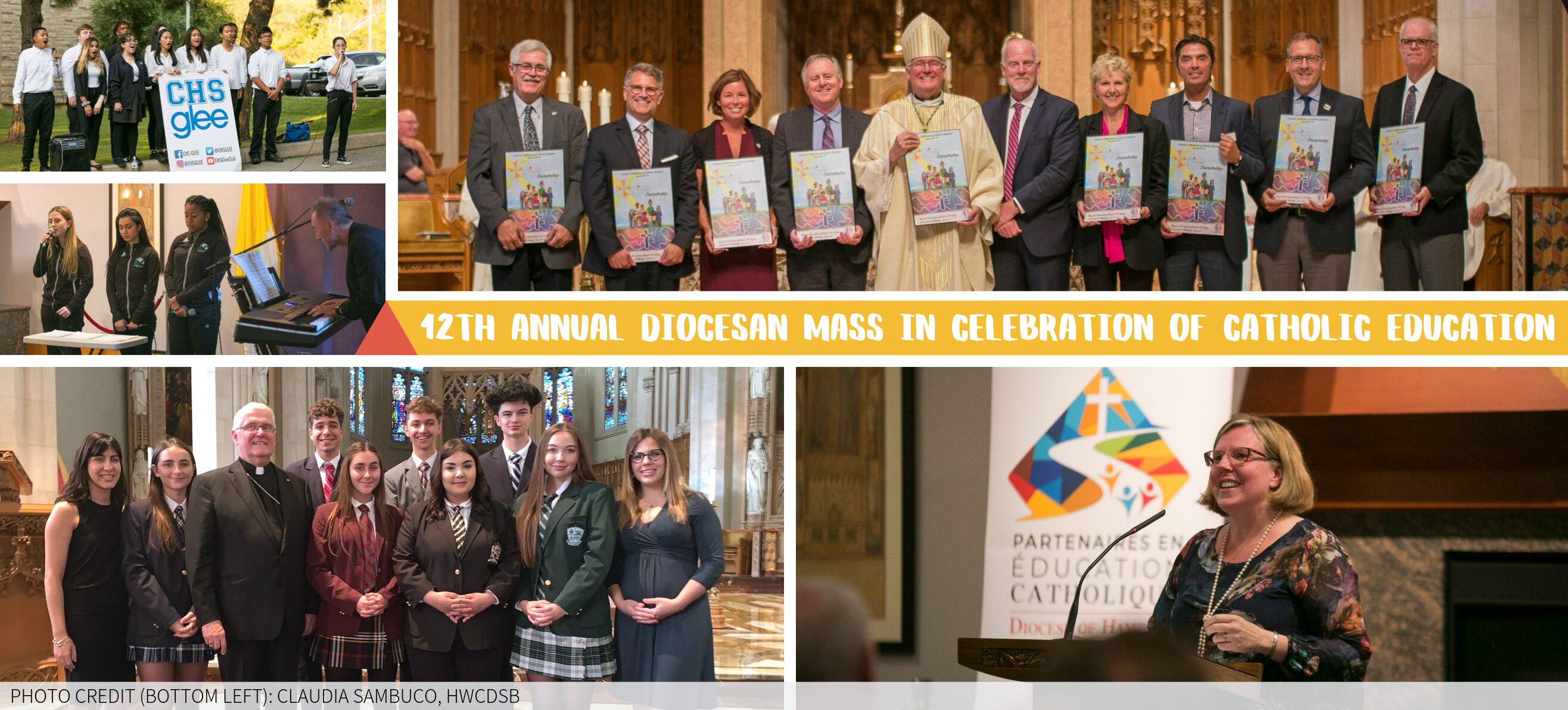 Highlights from the 12th Annual Diocesan Mass for Catholic Education
