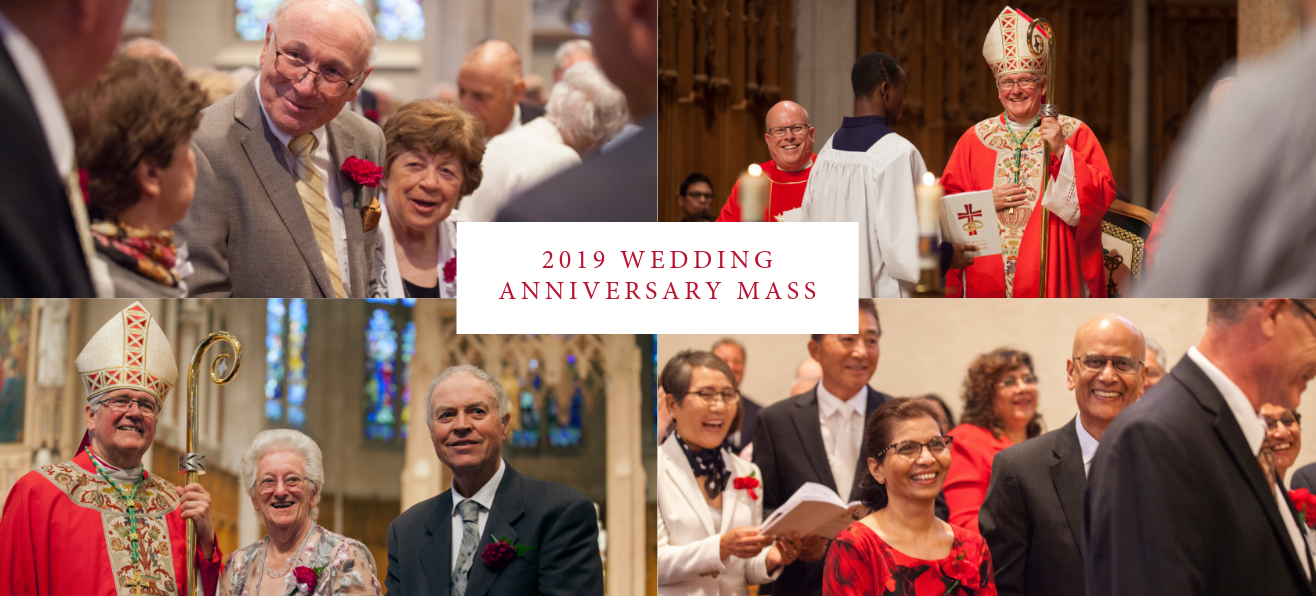 Highlights from 2019 Wedding Anniversary Mass