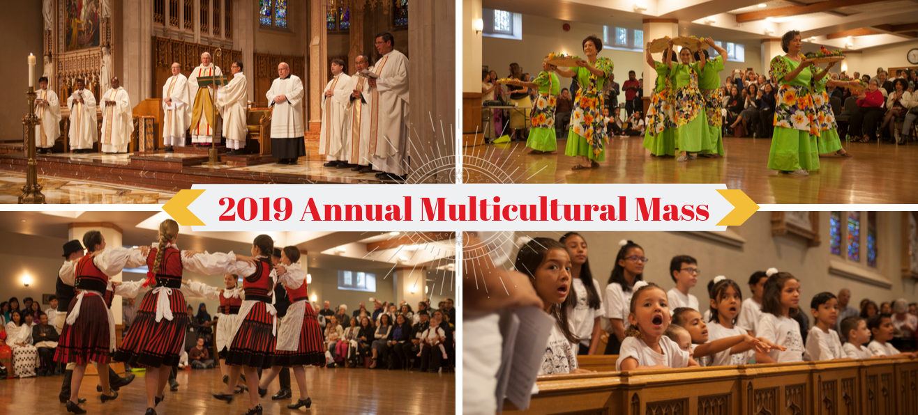 Highlights from 2019 Annual Multicultural Mass