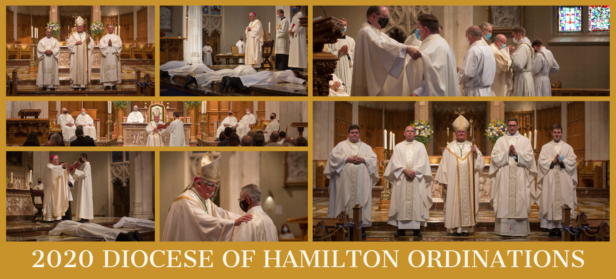Highlights from the 2020 Diocese of Hamilton Ordinations