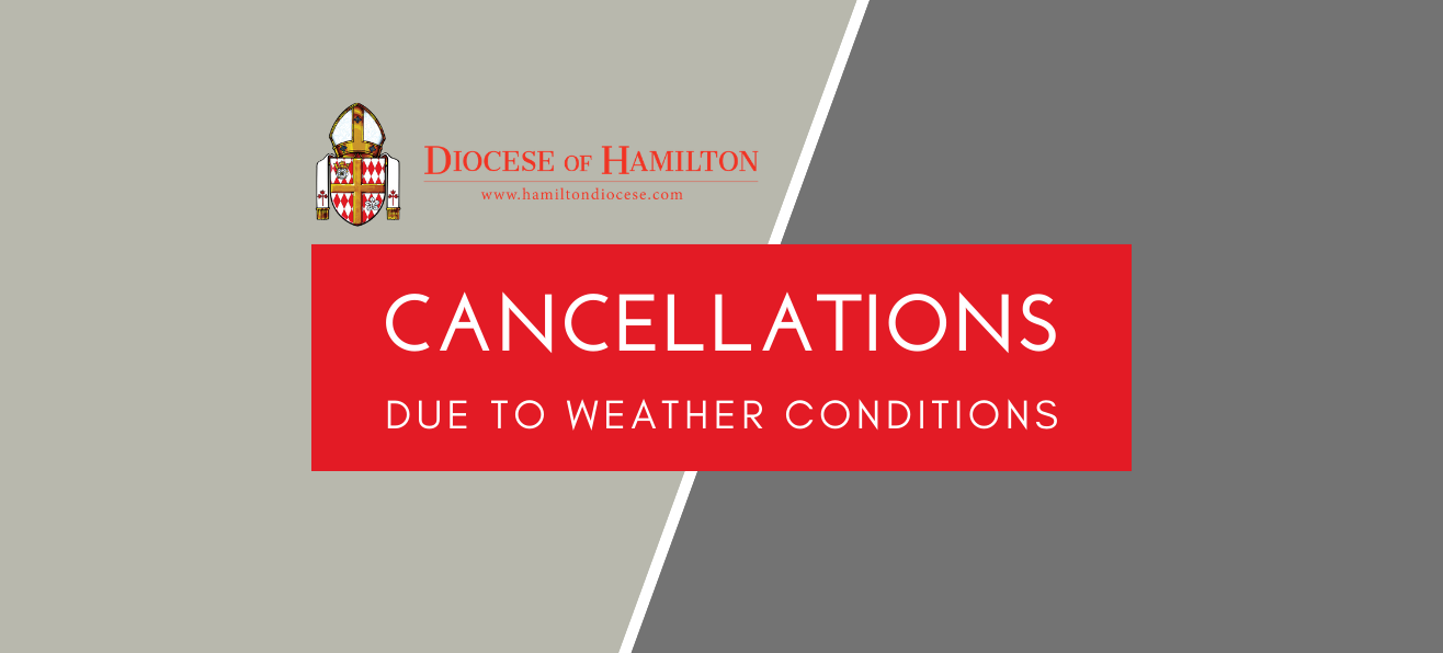 Cancellations for Sunday, December 1st, 2019