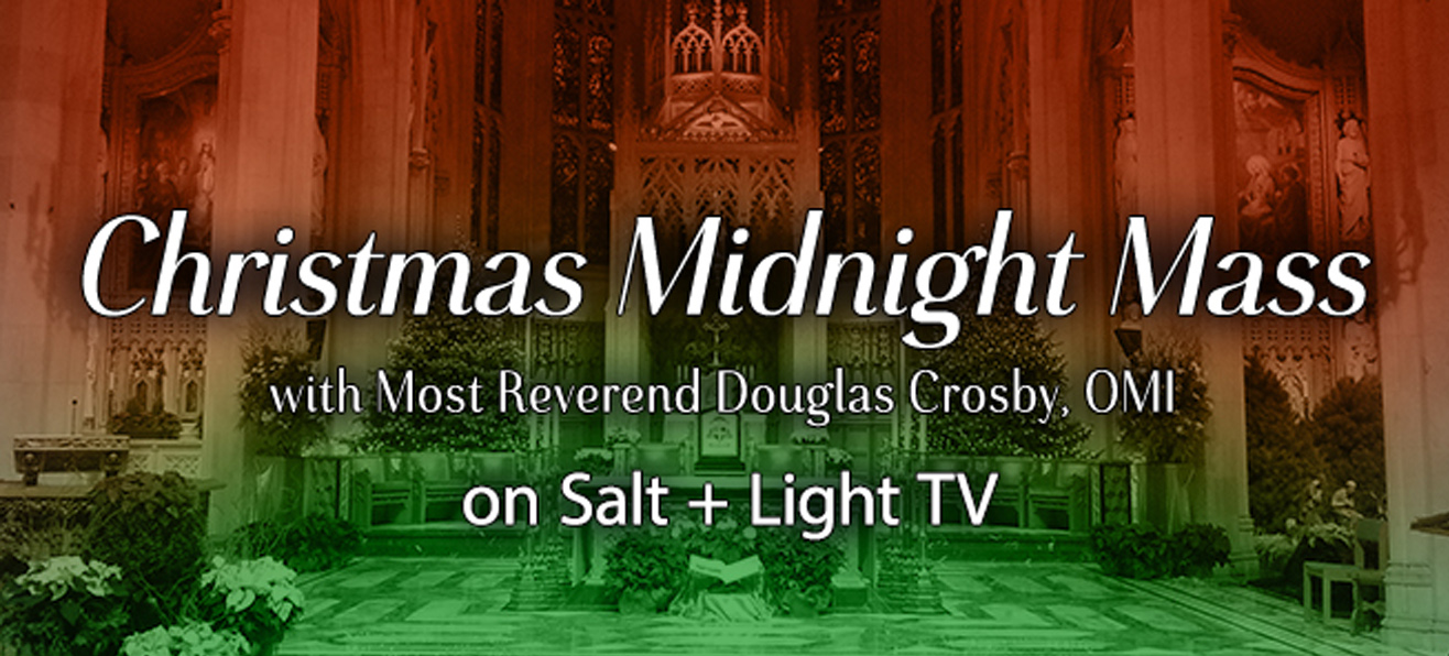 Christmas Midnight Mass LIVE from the Cathedral Basilica of Christ the King