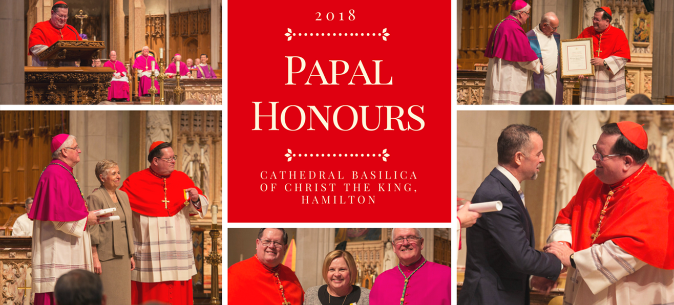 2018 Papal Honours