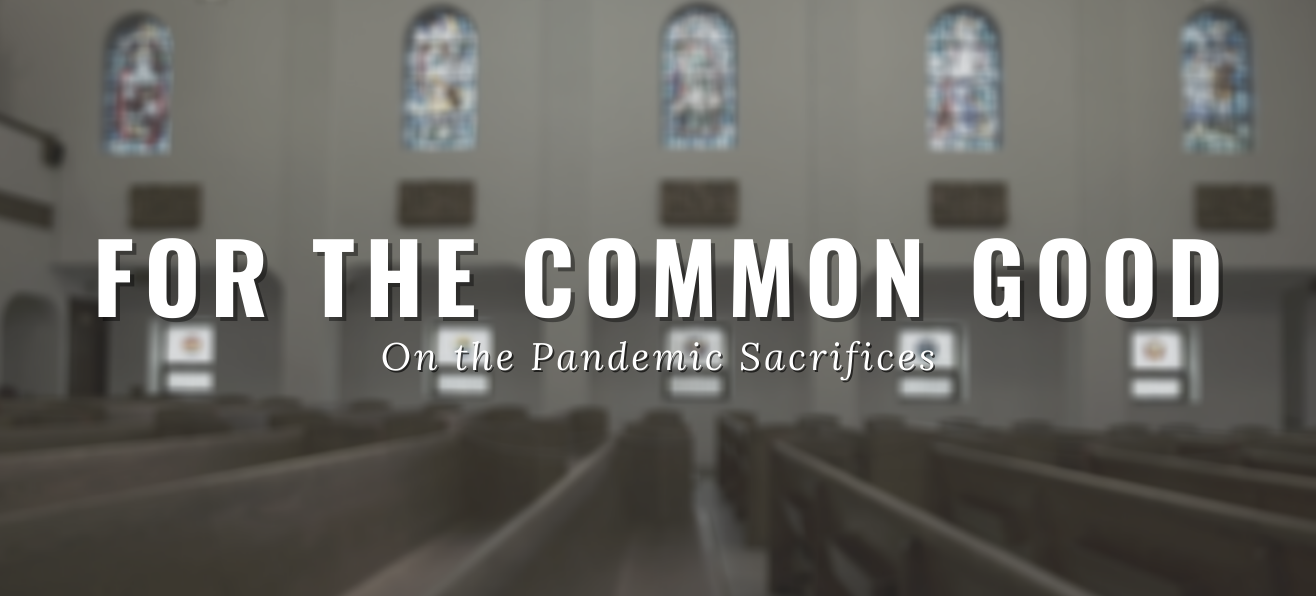 FOR THE COMMON GOOD<br/><em>On the Pandemic Sacrifices</em>