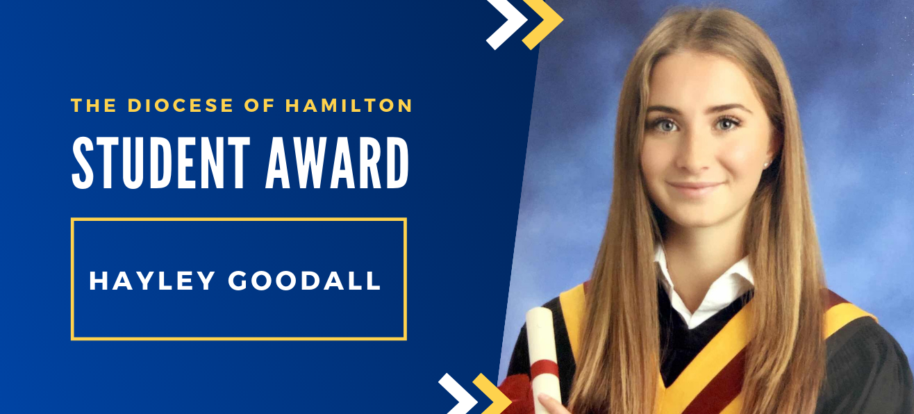 Diocese of Hamilton Student Awards: Hayley Goodall