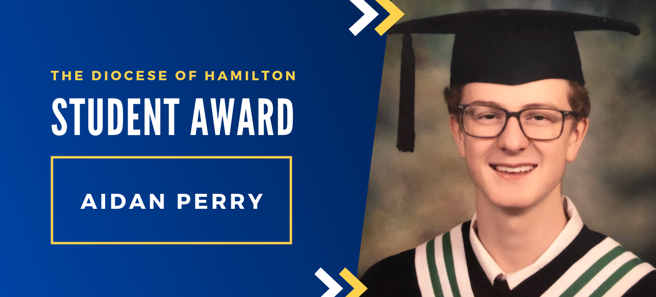 Diocese of Hamilton Student Awards: Aidan Perry