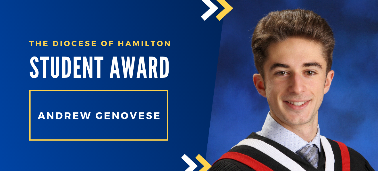 Diocese of Hamilton Student Awards: Andrew Genovese
