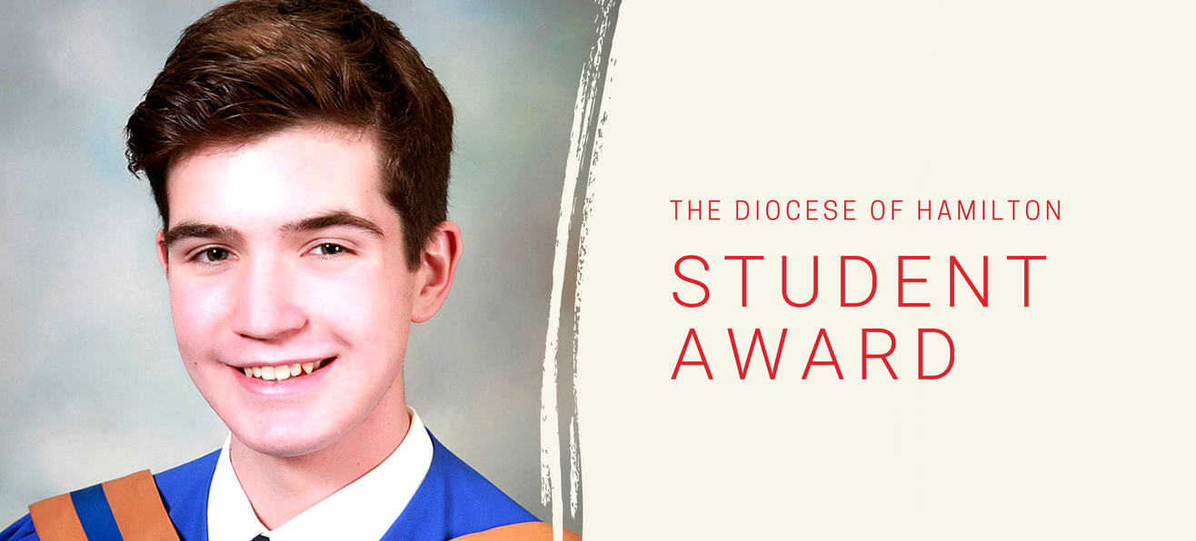 Diocese of Hamilton Student Awards: Jacob Bresolin
