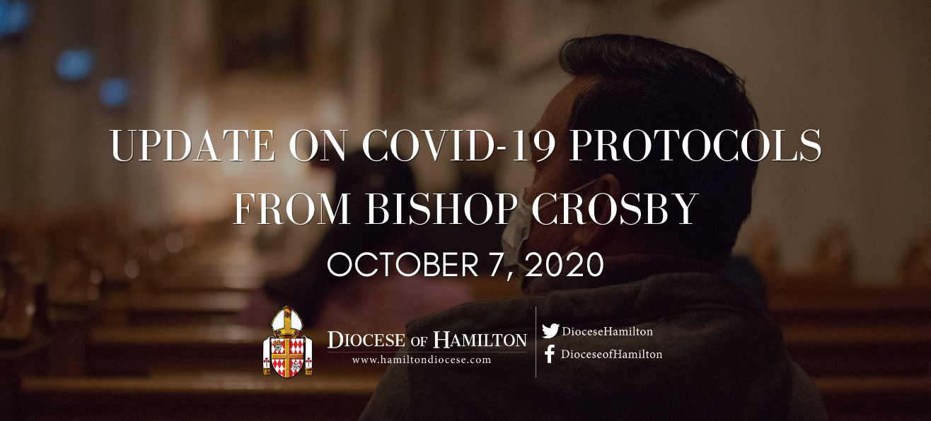Update on COVID-19 Protocols:<br/>A Letter from Bishop Crosby