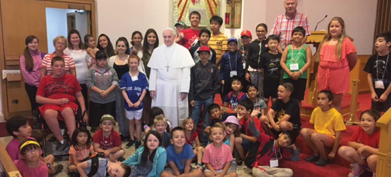 Vacation Bible School in the Diocese of Hamilton