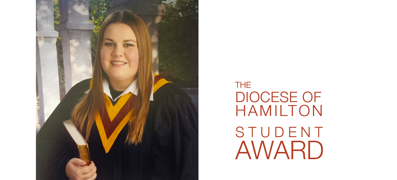 Diocese of Hamilton Student Awards:  Dominique Sousa