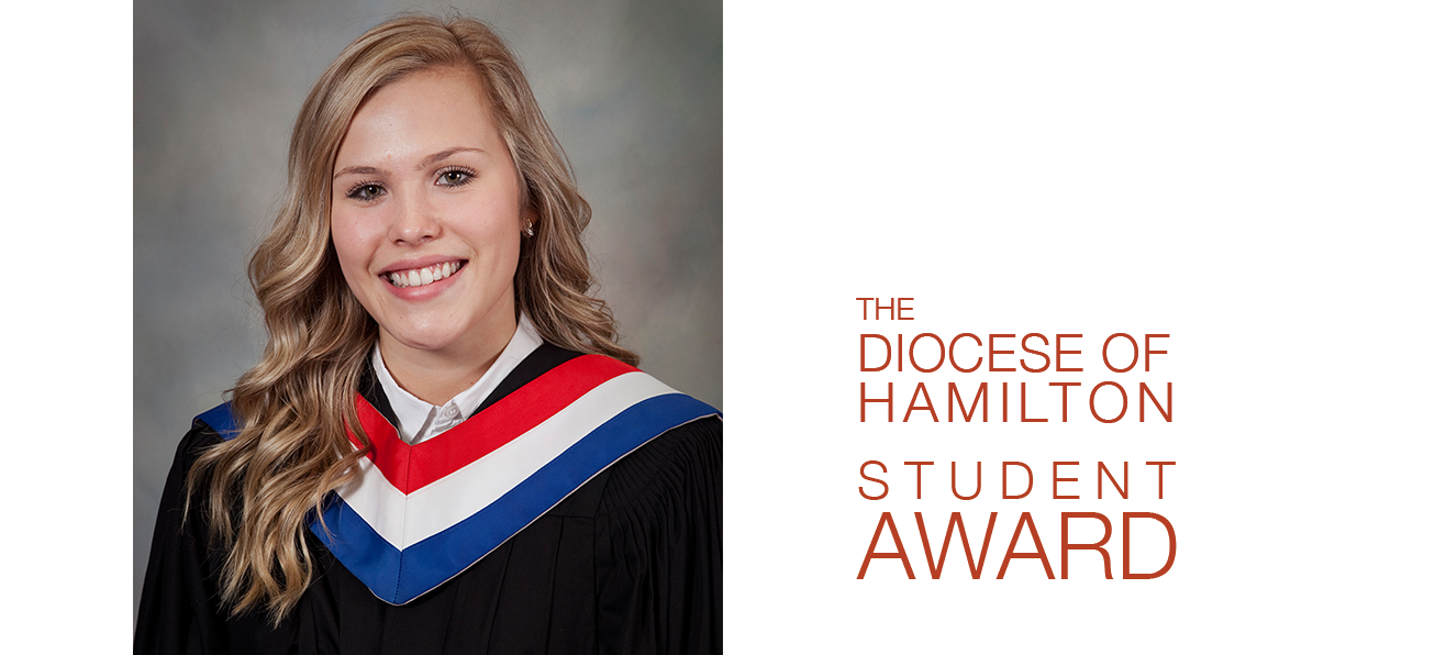 Diocese of Hamilton Student Awards: <br><em>Nicole Dragus</em>