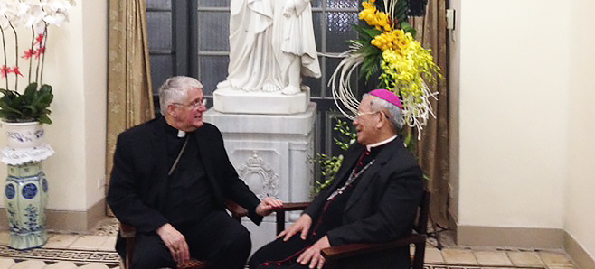 Bishop Crosby's Heart to Heart