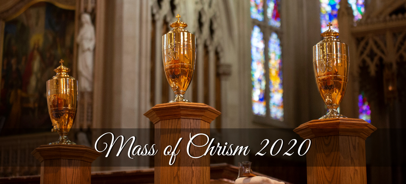Highlights from 2020 Mass of Chrism