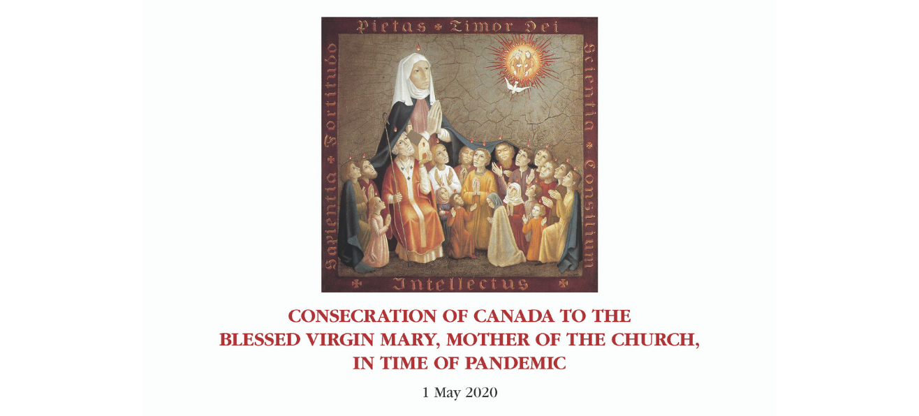 Consecration of Canada to the Blessed Virgin Mary