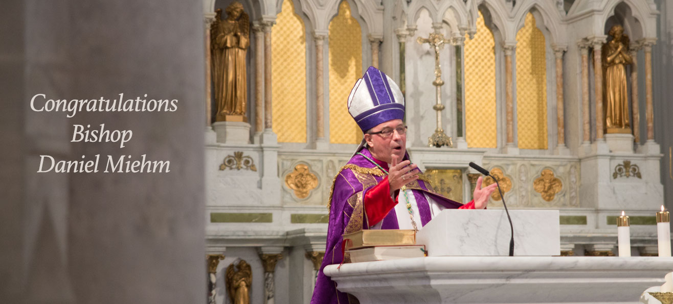 Appointment of Bishop Daniel Miehm, Bishop of Peterborough