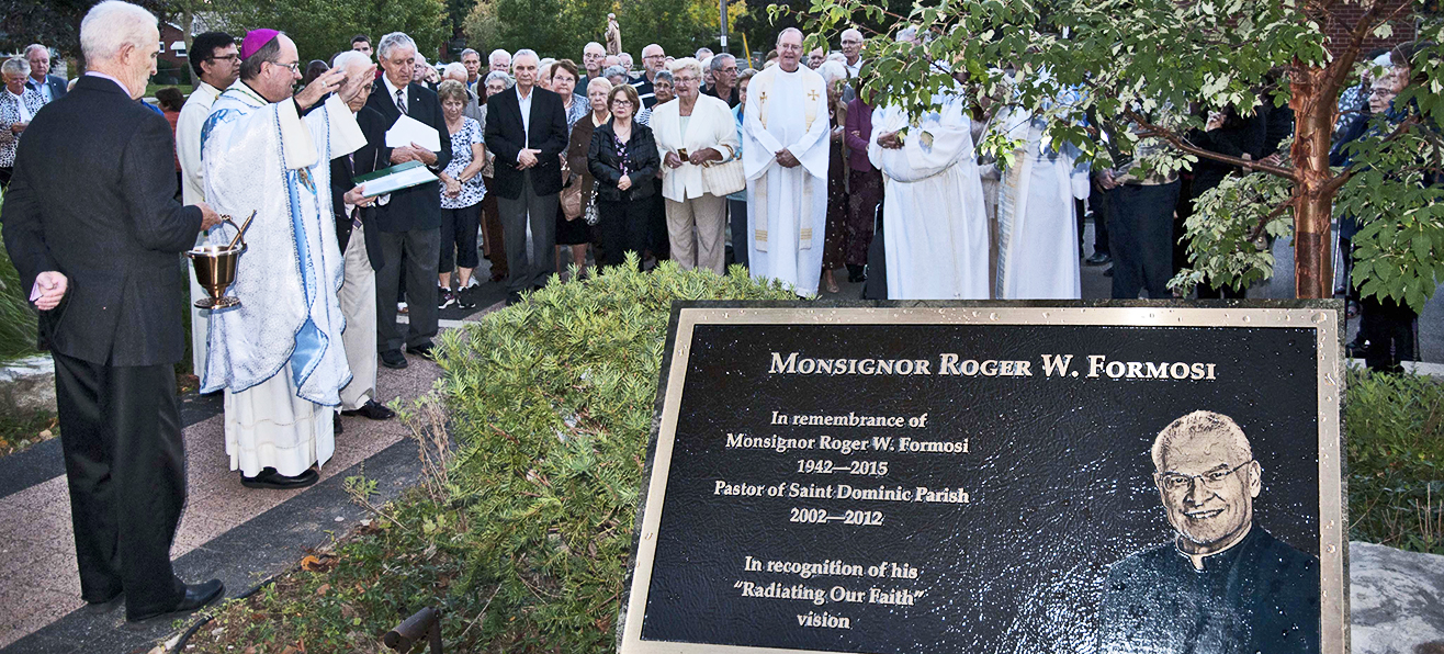 Saint Dominic Parish Honours the Late Msgr. Roger W. Formosi