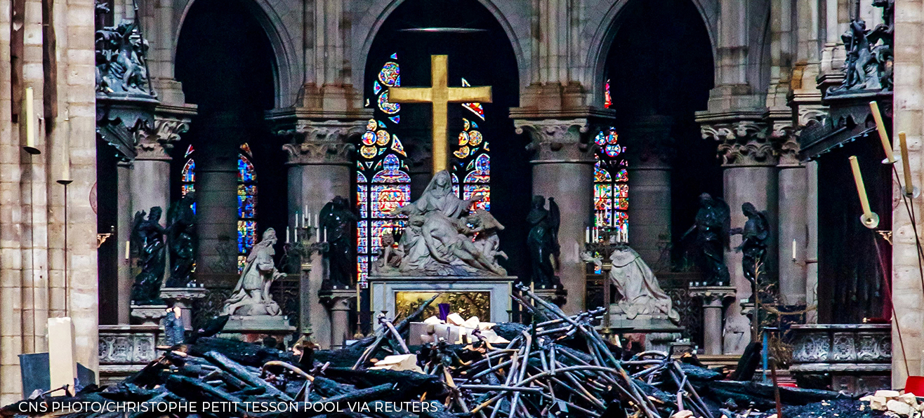 Letter to Msgr. Michel Aupetit regarding the devastating fire of Notre Dame Cathedral