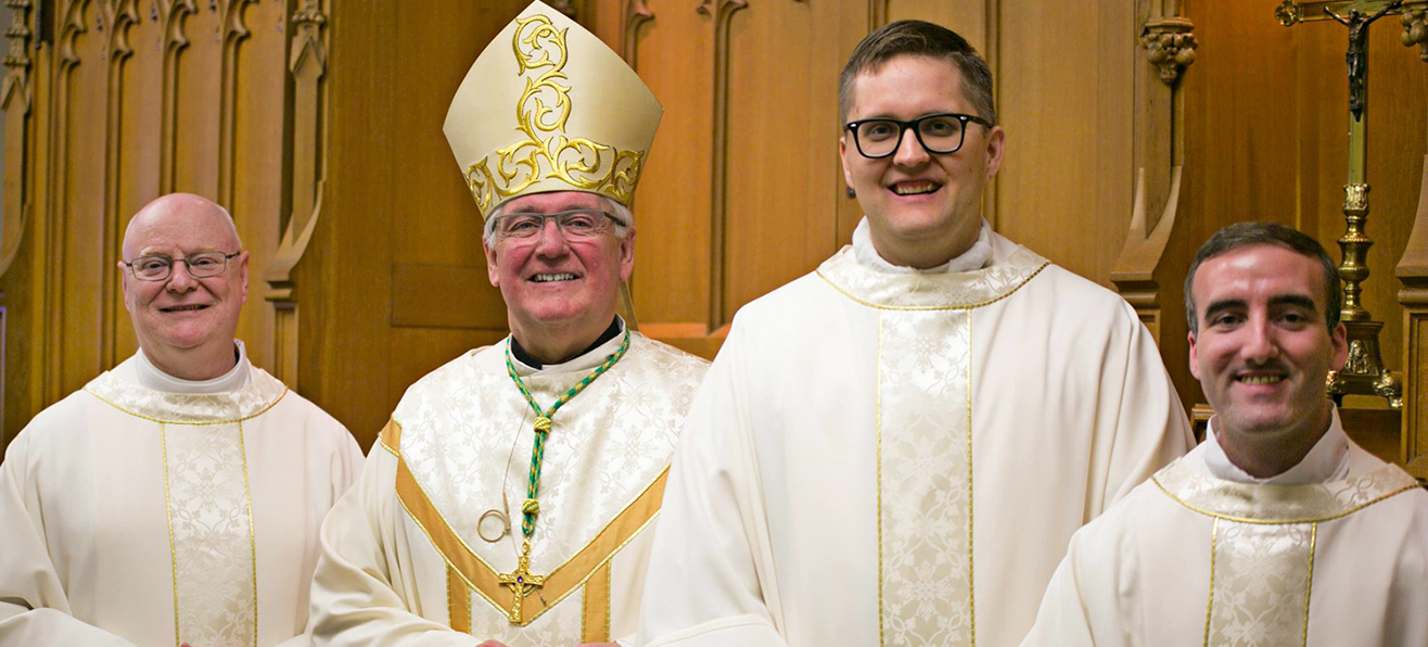 Ordination to the Priesthood: Father Hope, Father Theriault & Father Tracey