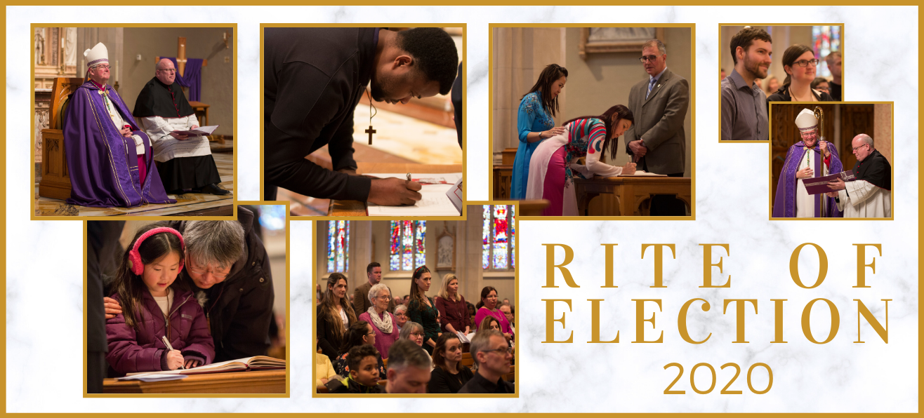 Highlights from 2020 Rite of Election