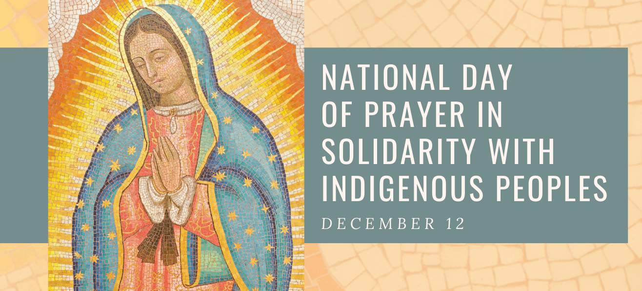 National Day of Prayer in Solidarity with Indigenous Peoples