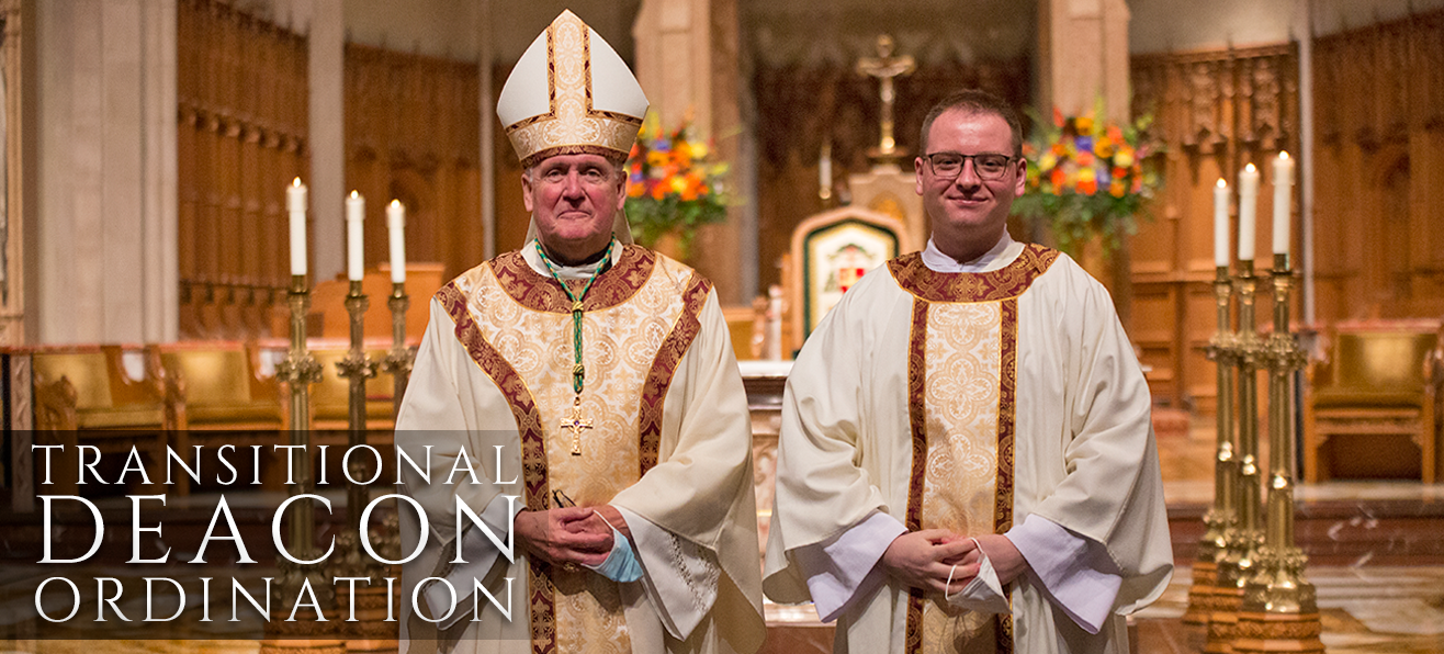 Ordination to Transitional Diaconate of Patrick Ohl