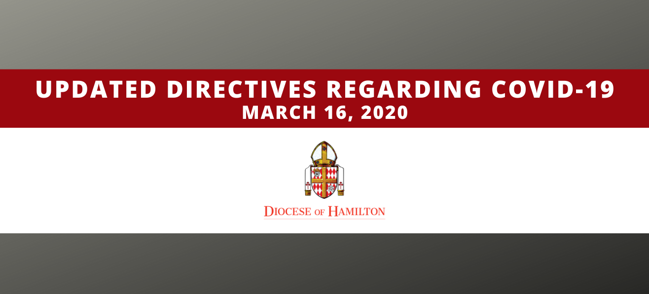 Updated Directives Regarding COVID-19
