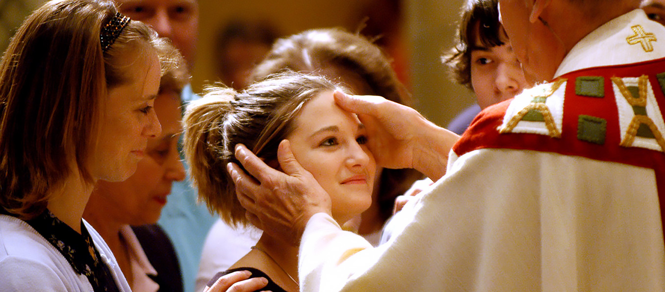 sacraments of initiation Home / sacraments of initiation st cecilia catholic community prepares registered parishioners to receive baptism, communion, reconciliation, confirmation and marriage in most cases, a person or family must be registered at least six months before the sacrament.