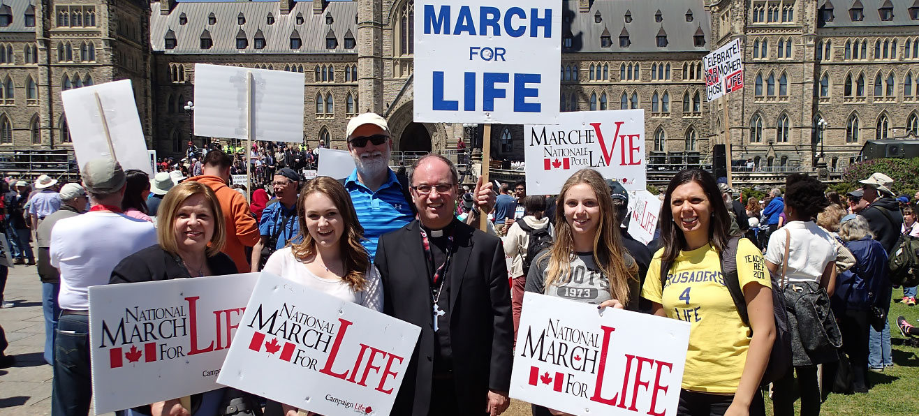 Stand for Life at the March for Life on <strong>Thursday, May 12, 2016</strong>