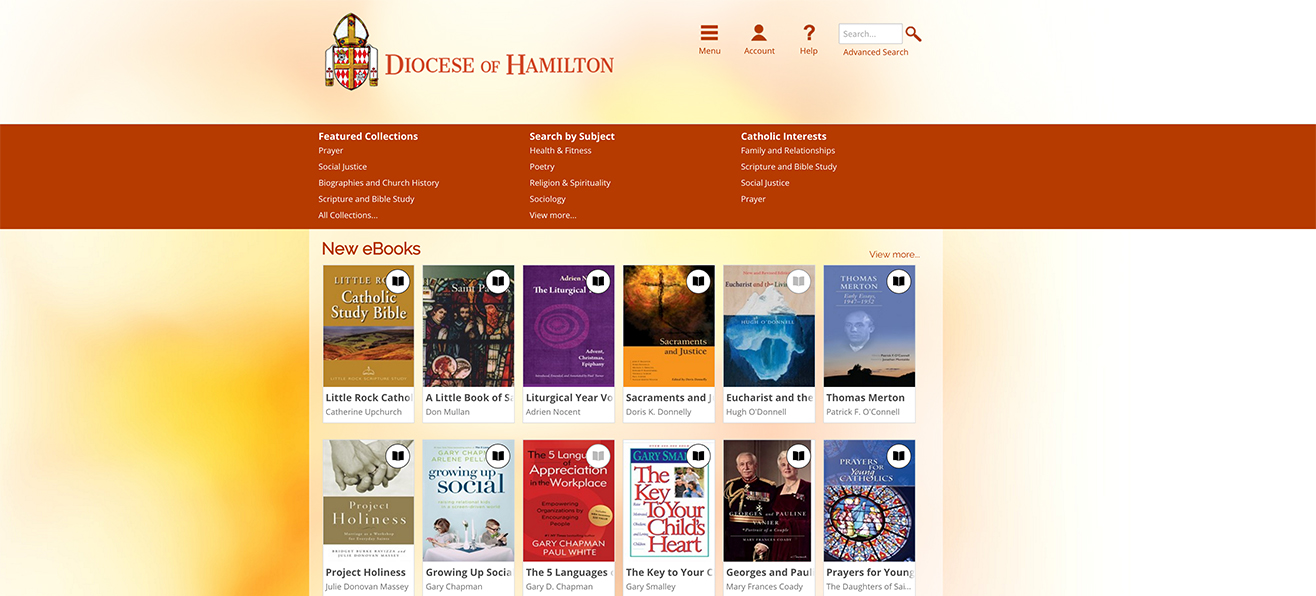 Bishop Farrell Library Now Offers eBooks!