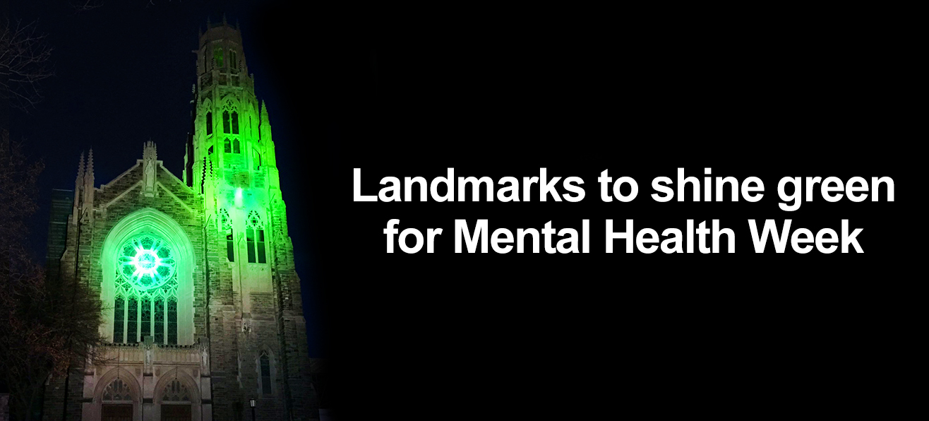 Shine Green for Mental Health Week in Canada | <strong>May 2 – 8, 2016</strong>