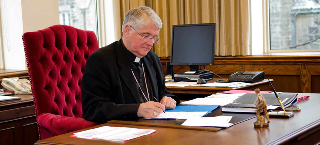 Bishop Crosby's Letter to Foreign Affairs Minister